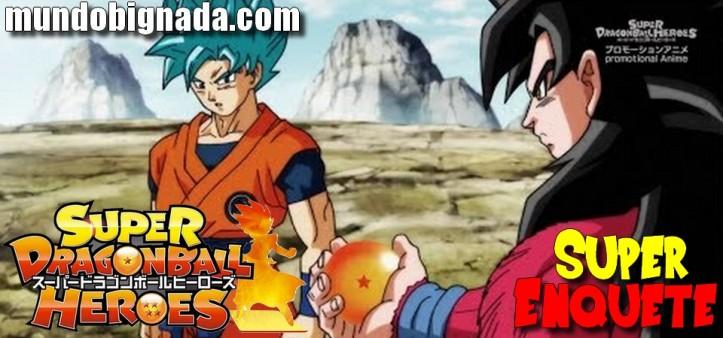 Super Enquete - Goku SSJ Blue Vs. Goku SSJ4 - Resultado
