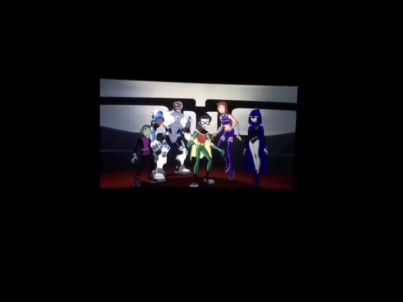 Jovens Titãs em Ação! Nos Cinemas - Cena Pós-Créditos