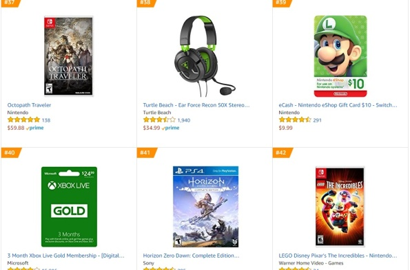 Top 10 Amazon - Octopath Traveler