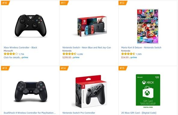 Top 2 Amazon - Mario Kart 8 Deluxe