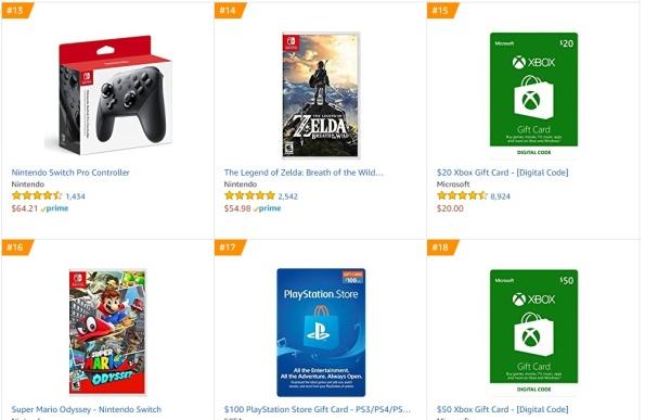Top 3 4 - The Legend of Zelda - Breath of the Wild Super Mario Odyssey