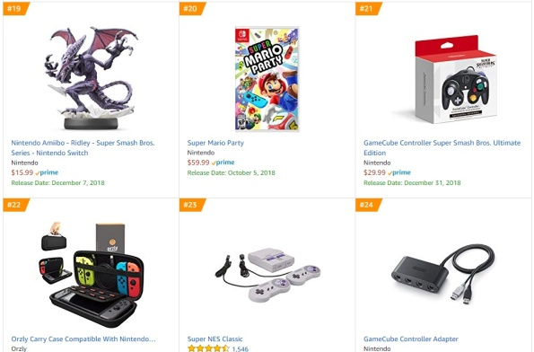 Top 5 Amazon - Super Mario Party