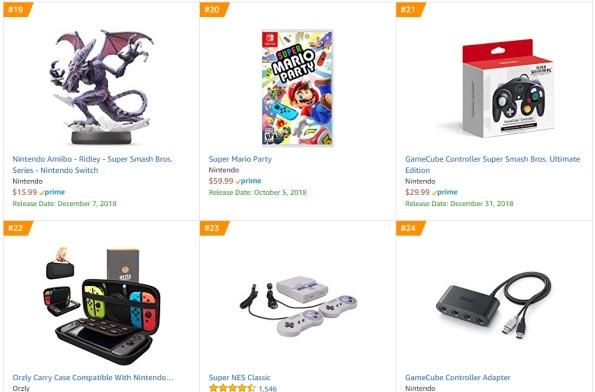 Top 5 Amazon - Super Mario Party