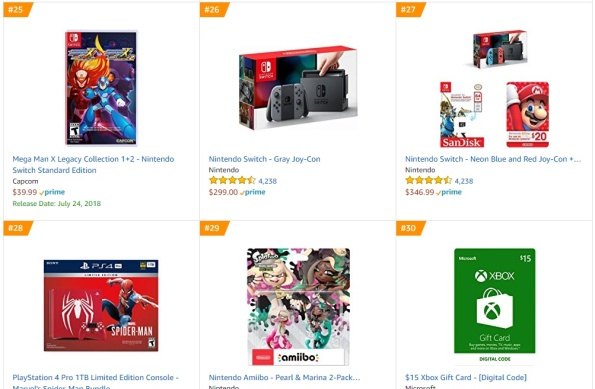 Top 6 7 Amazon - Megaman 11 Spider-Man PS4