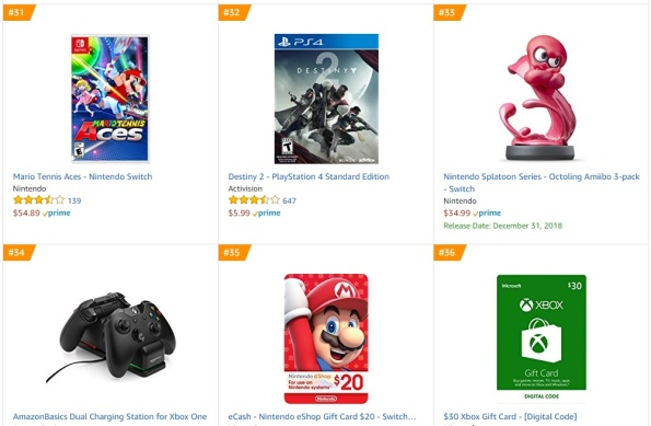Top 8 9 Amazon - Mario Tennis Aces Destiny 2