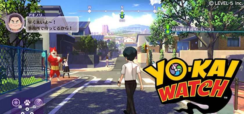 Yo-kai Watch 4 - Primeiras Screenshots do game Nintendo Switch