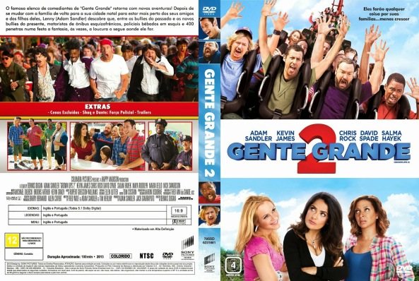 Gente Grande 2 - Adam Sandler, Kevin James, Chris Rock, David Spade