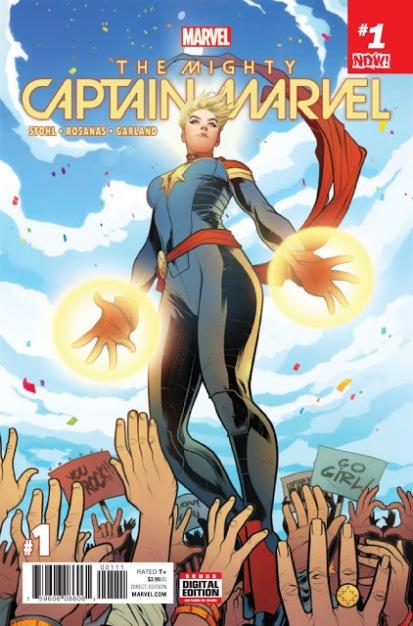 A Poderosa Capitã Marvel #1 (2018)