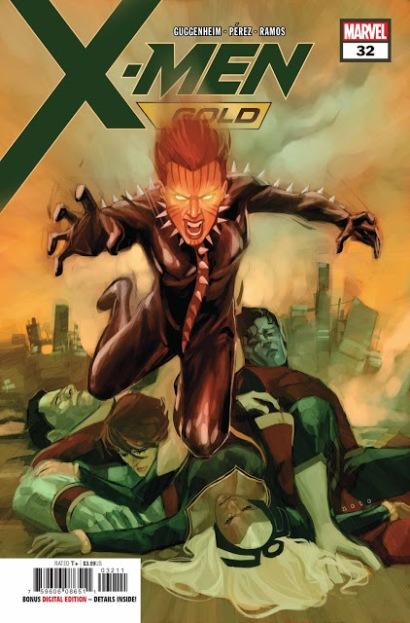 X-Men Dourados #32 (2018)