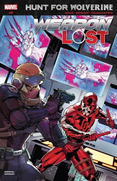Caçada pelo Wolverine - Arma Perdida #4 (2018)