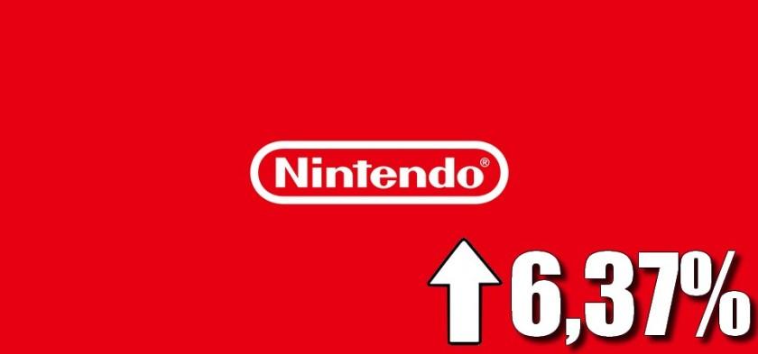 Ações da Nintendo sobem 6,37% após resultados financeiros do primeiro trimestre de 2018