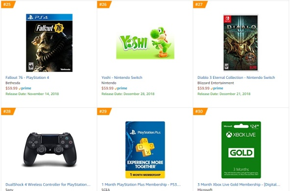 Amazon - Yoshi Switch Best Sellers Games