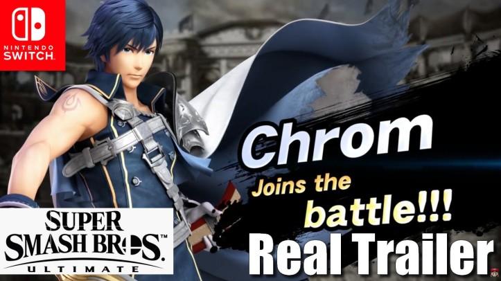 Chrom Joins the Battle - Super Smash Bros Ultimate - Real Trailer