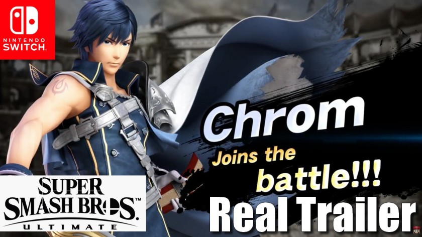 Chrom Joins the Battle - Super Smash Bros Ultimate - Real Trailer