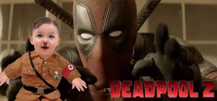 Deadpool 2 - Vaza Cena Pós-Créditos Censurada do Bebê Hitler