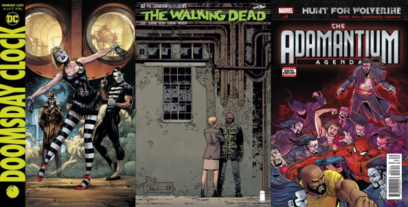 Destaques do Porco-Aranha #10 - Relógio do Juízo Final, The Walking Dead e Wolverine