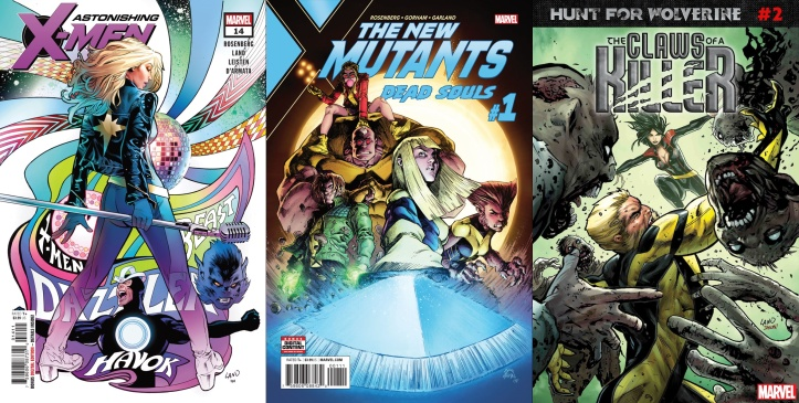 Destaques do Porco-Aranha #12 -Novos Mutantes, Wolverine e X-Men