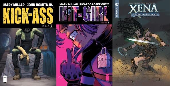 Destaques do Porco-Aranha #13 - Kick-Ass, Hit Girl e Xena