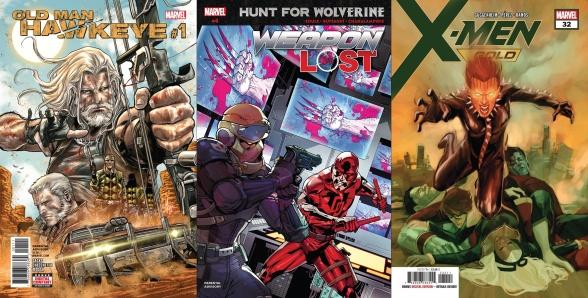 Destaques do Porco-Aranha #15 - Gavião Arqueiro, Wolverine e X-Men