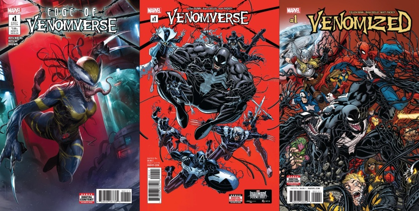 Destaques do Porco-Simbionte - No Limiar do Venomverso, Venomverso e Venomized