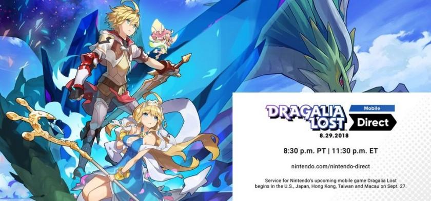Dragalia Lost ganha data de lançamento e Nintendo Direct Mobile