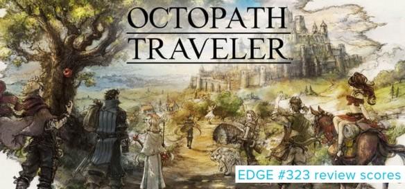 EDGE #323 - Review Scores - Octopath Traveler, Hollow Knight, Dead Cells e outros games