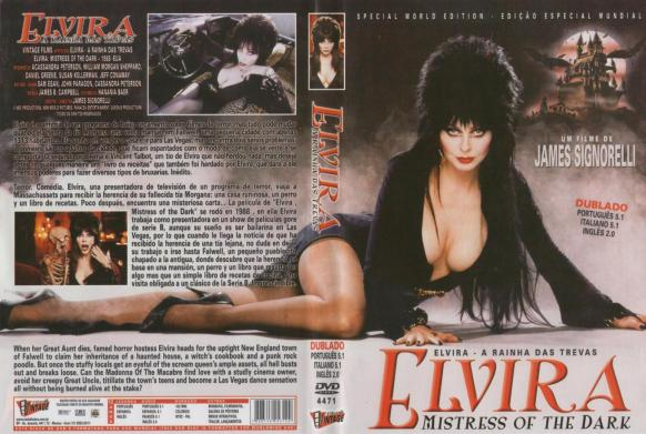 Elvira, a Rainha das Trevas capa