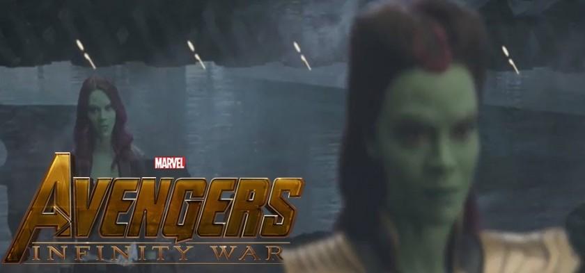 Gamora e Thanos Flashback em Cena Deletada - Vingadores - Guerra Infinita