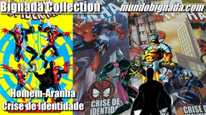 Homem-Aranha - Crise de Identidade (Abril Formatinho) - BIGNADA COLLECTION