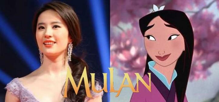 Libera primeira imagem do live action da Mulan