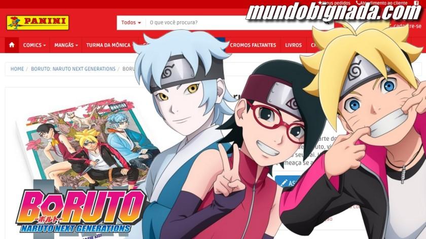 Mangá de Boruto Naruto Next Generations já está nas bancas - BIGNADA COMENTA
