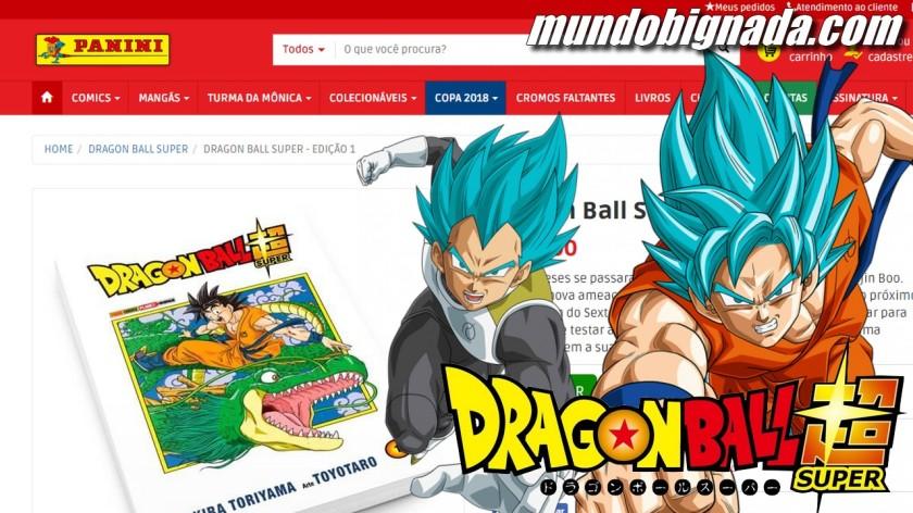 Mangá de Dragon Ball Super já está nas bancas - BIGNADA COMENTA