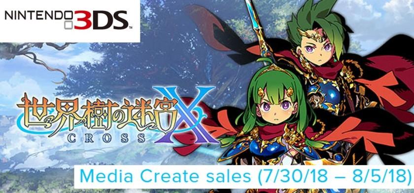 Media Create Sales (7 30 18 – 8 5 18) Etrian Odyssey X lança em primeiro lugar no Japão!
