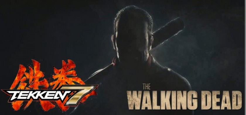 Negan de The Walking Dead em Tekken 7