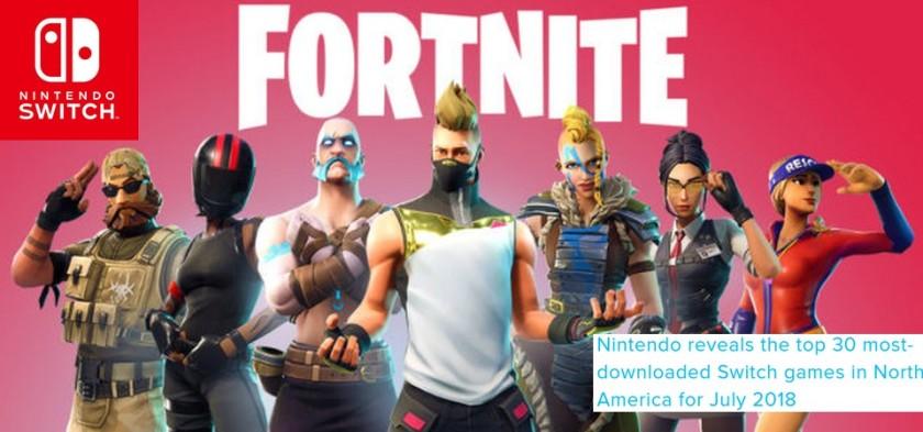 Nintendo Switch - Fortnite é o game mais baixado da eshop em julho de 2018