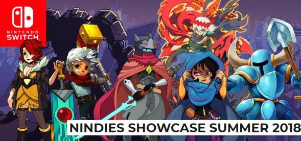 Nintendo Switch Nindies Showcase Summer 2018 - Evento Digital
