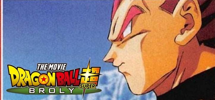 Primeira imagem oficial do Vegeta Super Sayajin God em Dragon Ball Super - Broly