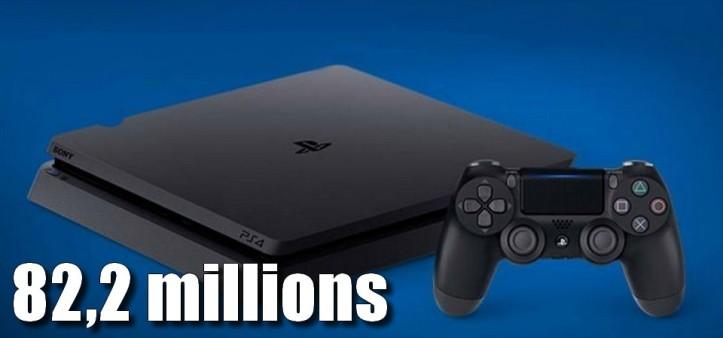 PS4 ultrapassa 82,2 milhões de unidades vendidas mundialmente