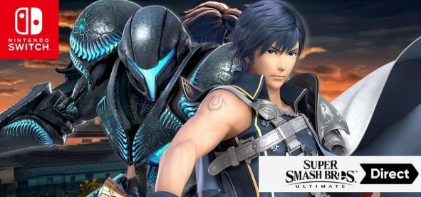 Super Smash Bros Ultimate - Trailer do Chrom e Dark Samus - Echo Fighters