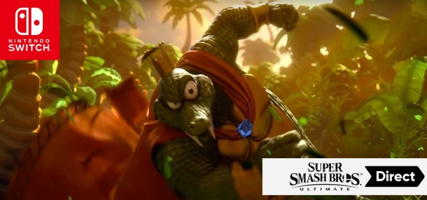 Super Smash Bros Ultimate - Trailer do King K Rool - The Rivals