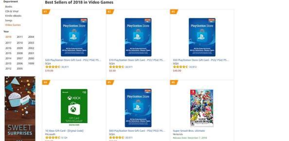 Top 1 Amazon Best Sellers Games 2018 So Far - Super Smash Bros Ultimate
