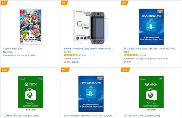TOP 3 Amazon - Super Smash Bros Ultimate