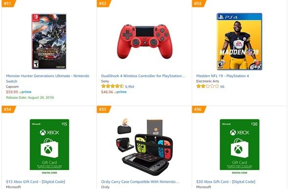 TOP 8 9 Amazon - Monster Hunter Generations Ultimate Madden NFL 19