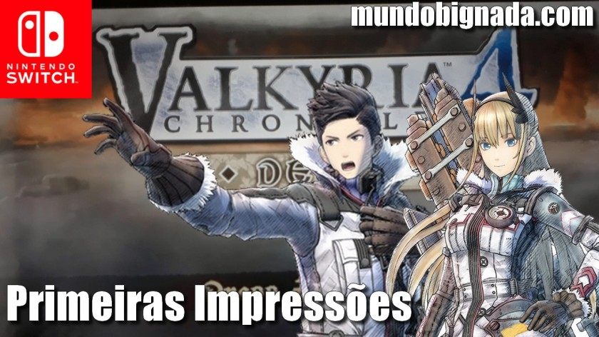 Valkyria Chronicles 4 (Switch) - Demo na eShop e Primeiras Impressões do Game - SWITCH NEWS
