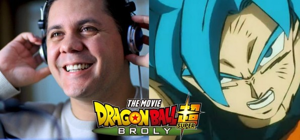 Wendel Bezerra irá dublar o Goku em Dragon Ball Super - Broly