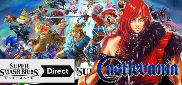 Simon Belmont de Castlevania em Super Smash Bros Ultimate