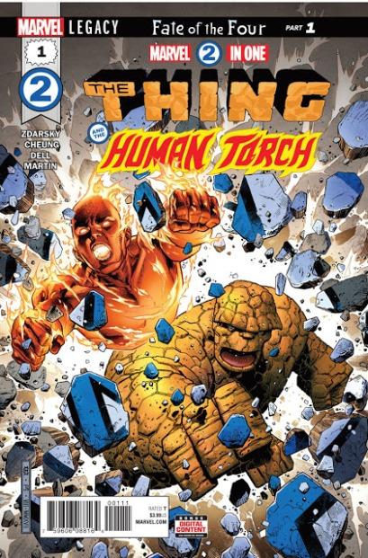 Marvel 2 em 1 Coisa e Tocha Humana #1 (2018)