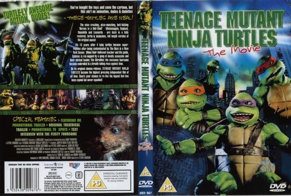 Teenage Mutant Ninja Turtles 1990 dvd