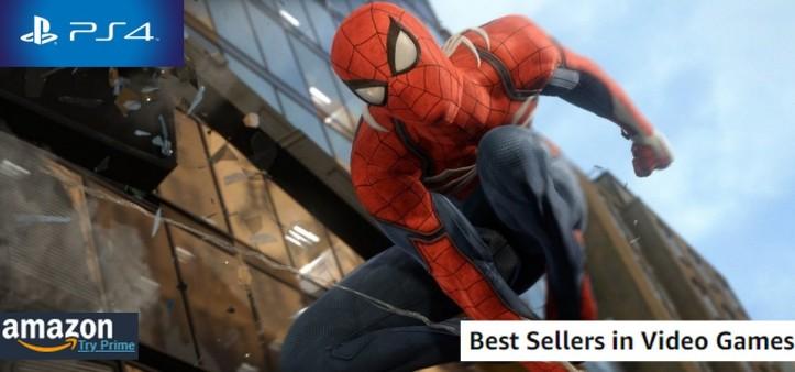 Amazon Best Sellers Games (09 09 18) - Spider-Man PS4 no topo das vendas pela segunda semana