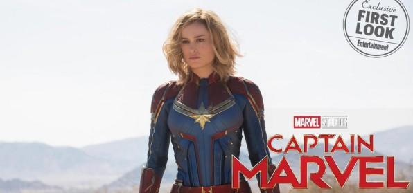 Capitã Marvel - Primeiras imagens oficiais de Carol Danvers, Nick Fury Jovem. Ronan, Starforce, Skrulls e outros do filme